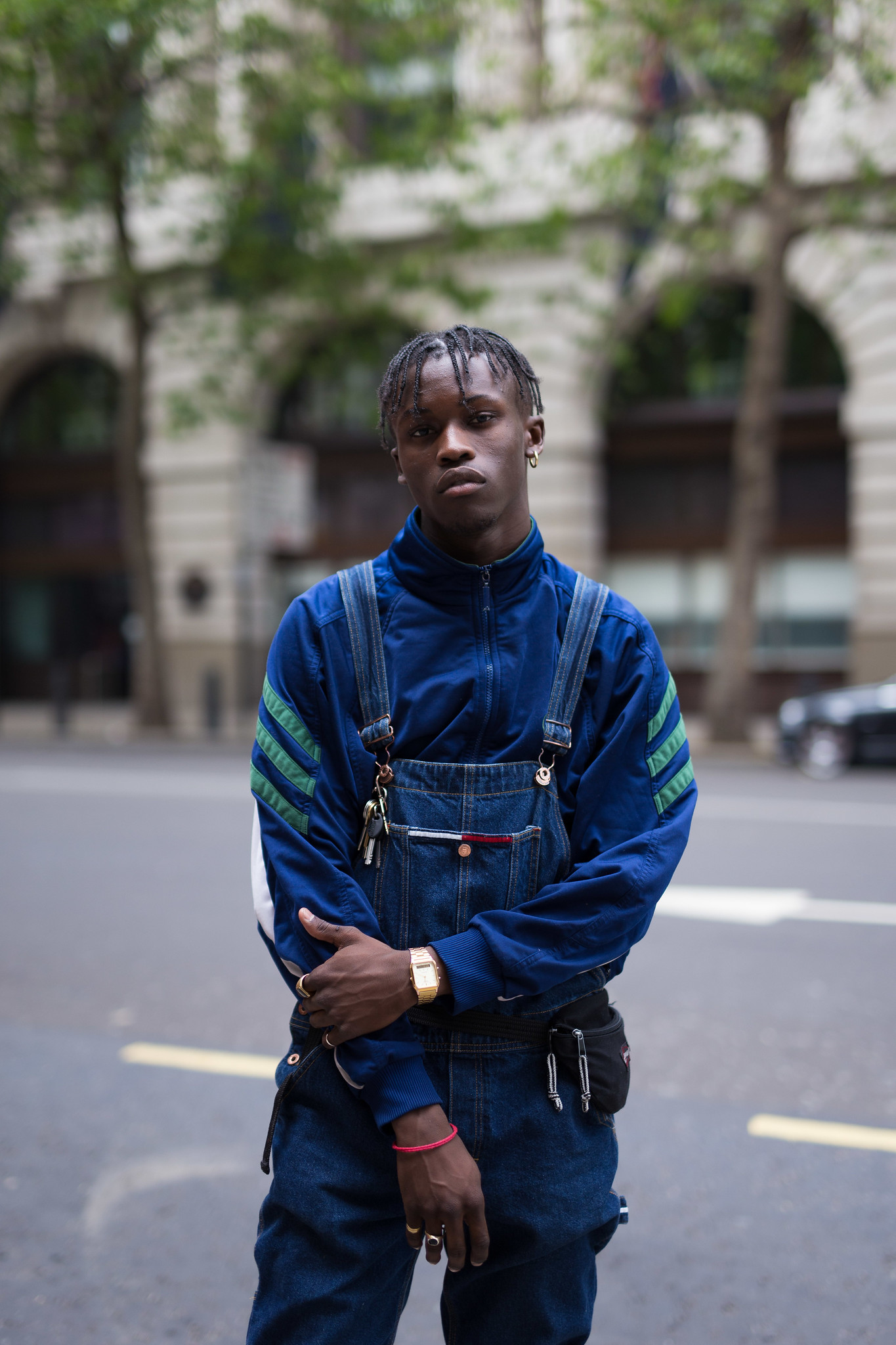 Street Style - Shamel Kendrick, London Collections: Men