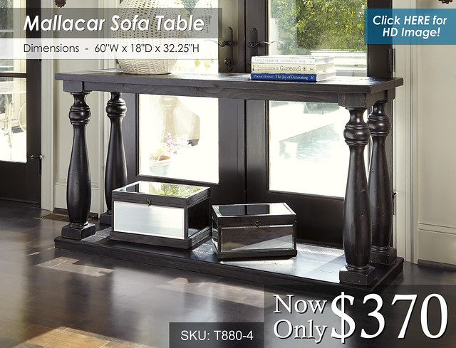 Mallacar Sofa Table T880-4