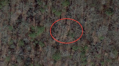 Harris Family Cemetery Google Earth