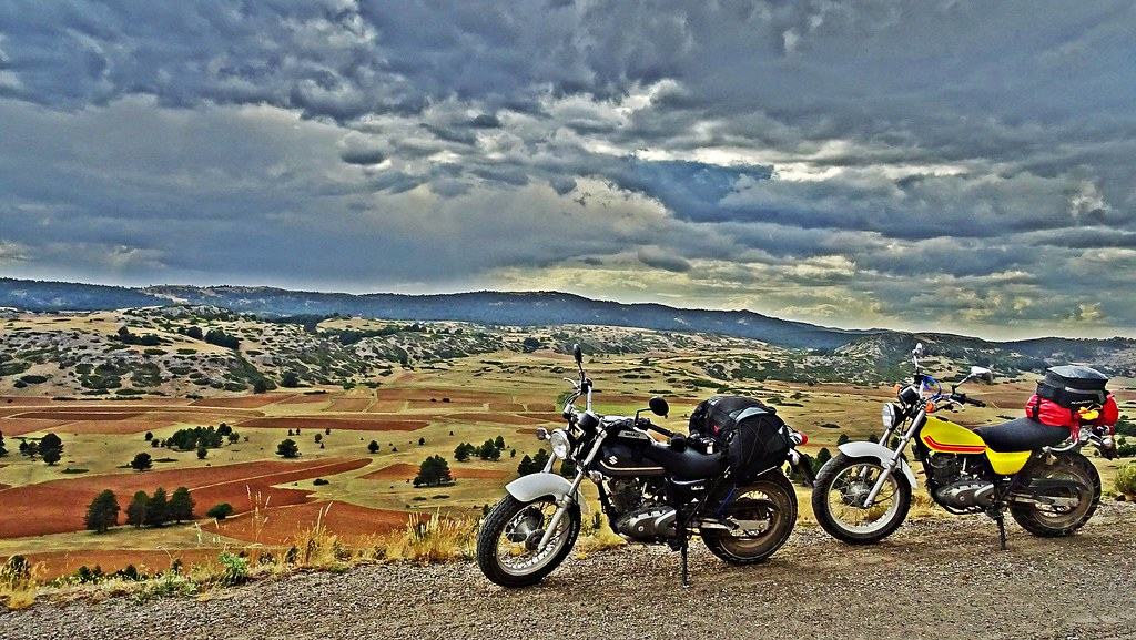 Dominando la serranía de Cuenca