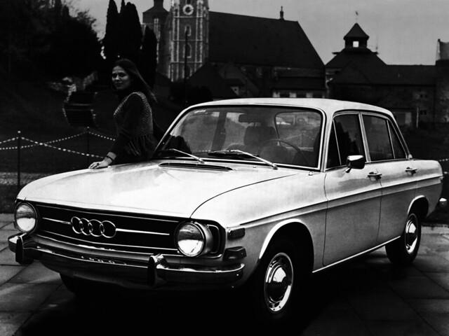 Седан Audi Super 90 для рынка США. 1970 – 1972 годы