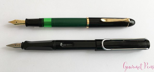 Review Pelikan M120 Green & Black Fountain Pen @couronneducomte 8