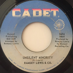 RAMSEY LEWIS & CO.:THEM CHANGES(LABEL SIDE-B)