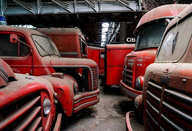 Anciens camions de pompiers copie