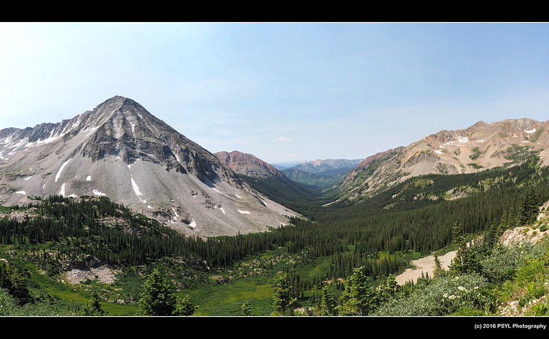 View from Triangle Pass