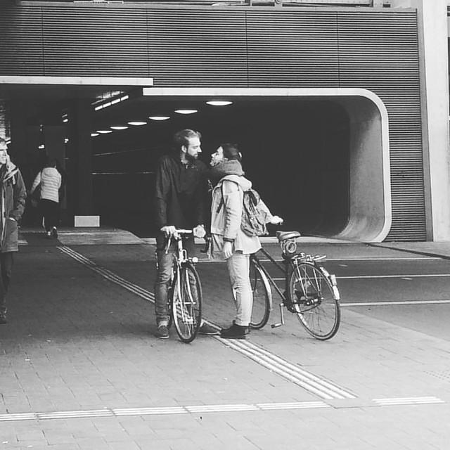 #kissandride in #amsterdam #bikelove #summerlove