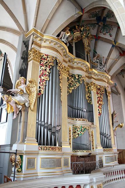 Gottfried Silbermann-Orgel im Freiberger Dom