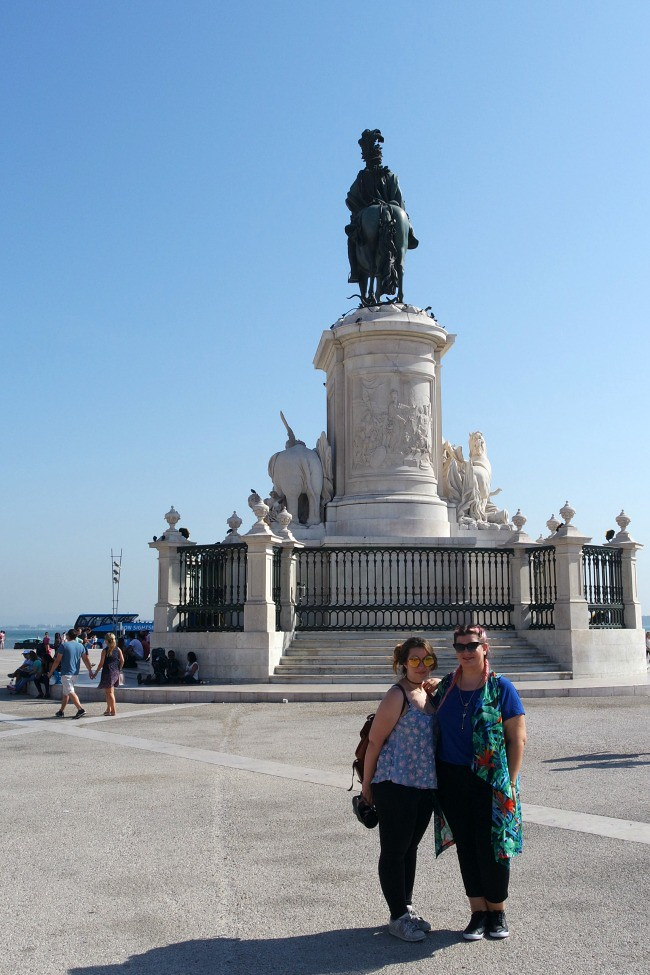 Lisbona - Praça do Comércio