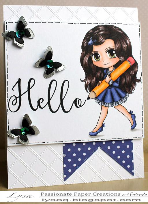 Writing Hello...