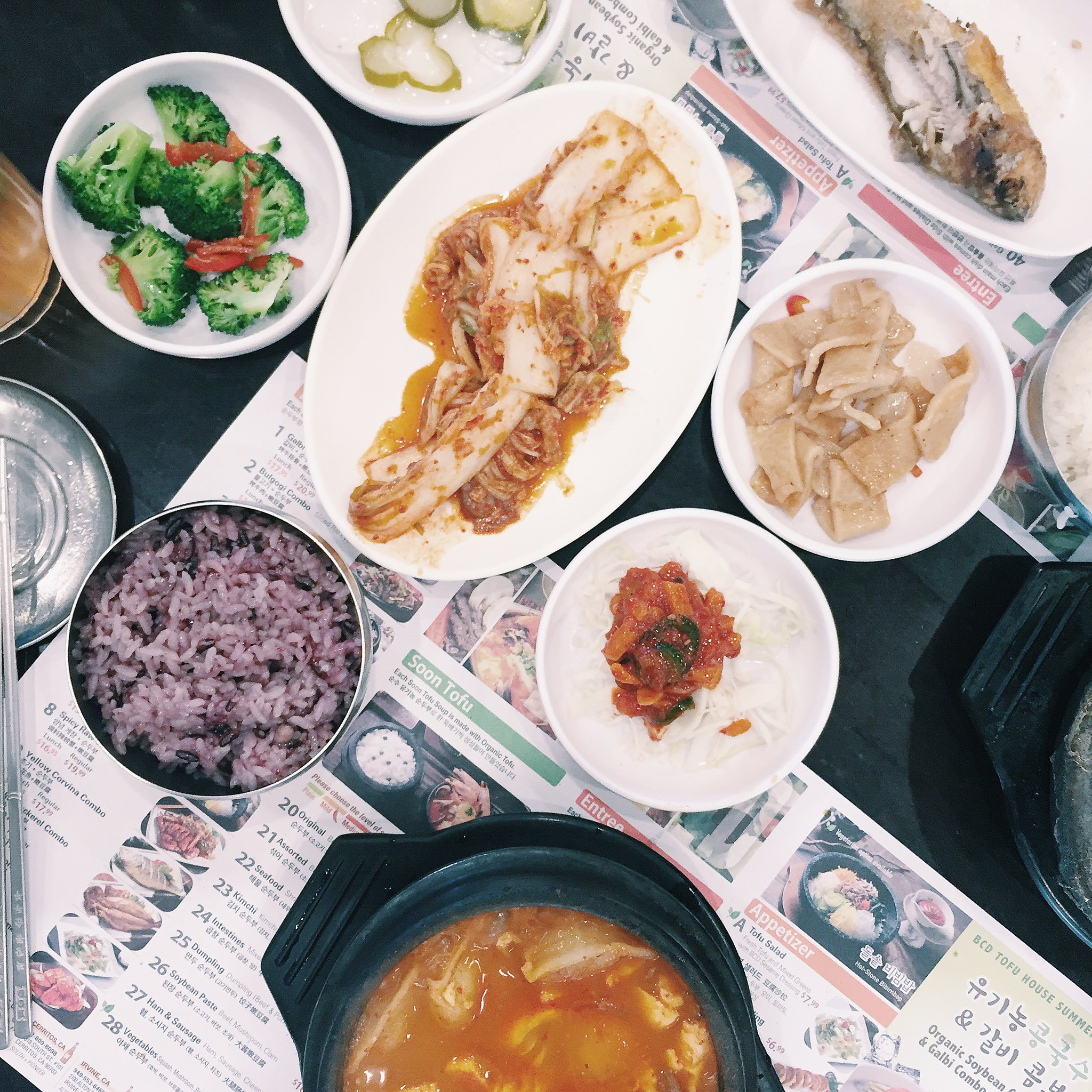 bcd-tofu-house-korean-food-foodie-flatlay