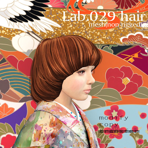 booN Lab.029 hair