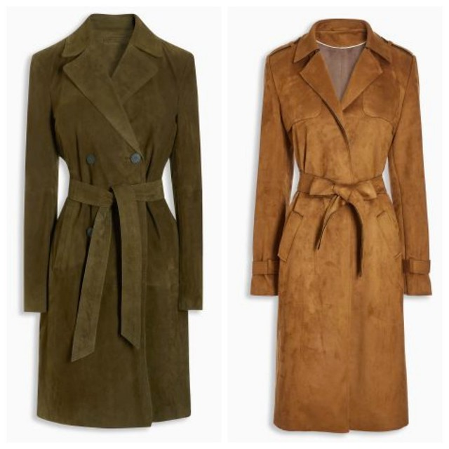 Suede Coats for Fall