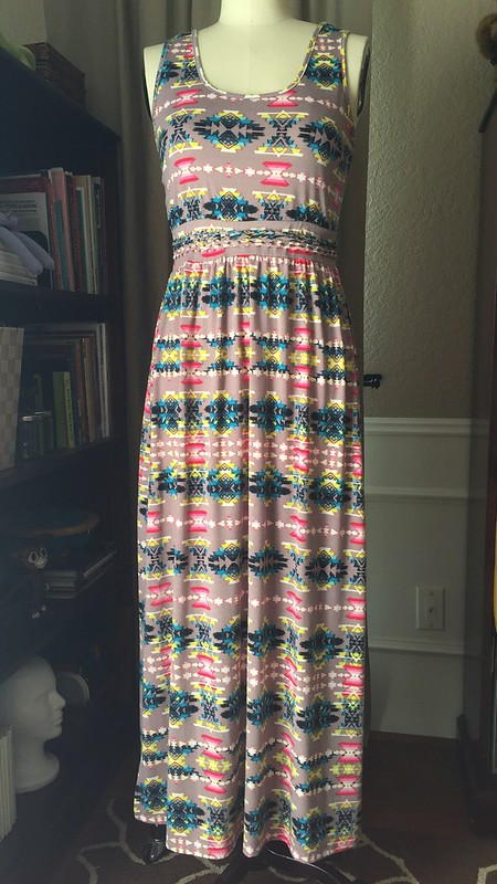 Tribal Dress Refashion - Before