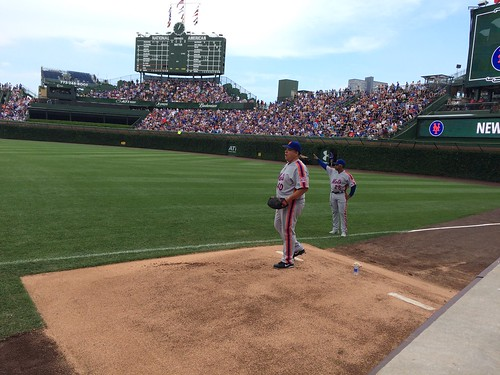 Bartolo warming up. Let's go #Mets!