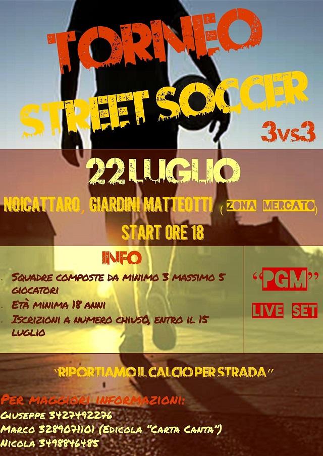 Noicattaro. Street Soccer intero