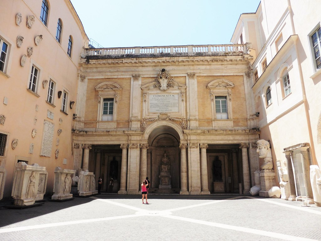 Museo Capitolini Courtyard