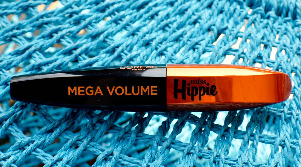 тушь l'oreal mega volume miss hippie отзыв свотчи