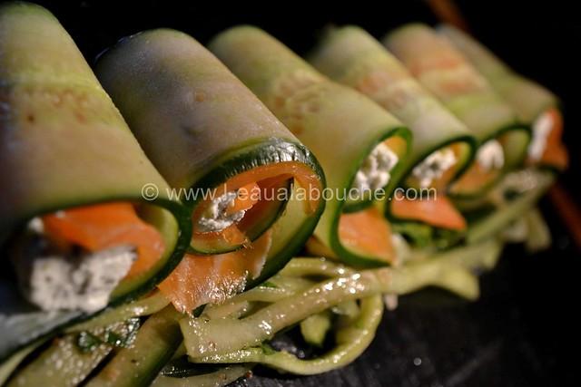 Bouchées au Saumon Comcombre & Fromage Frais © Ana Luthi Tous droits réservés 015