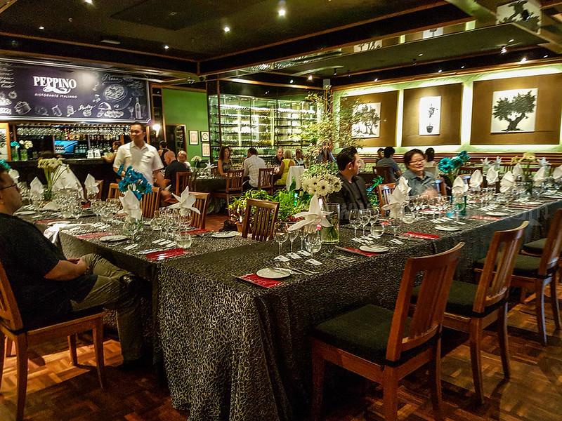Baron Edmund de Rothschild Wine dinner