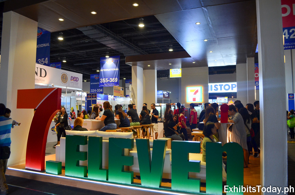 7-Eleven Exhibit Booth