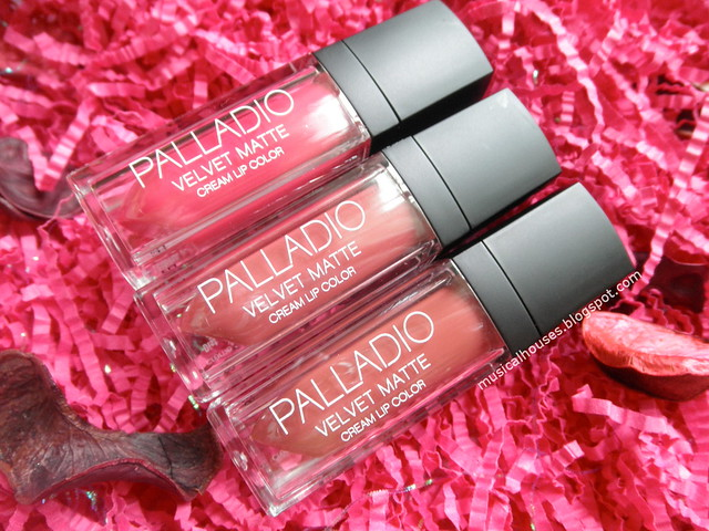 Palladio Velvet Matte Lip Cream Color Review Liquid Lipstick