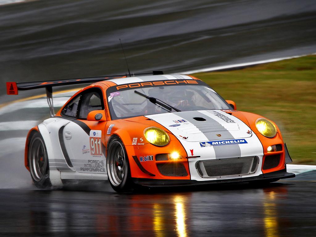 Porsche 911 GT3 R Hybrid (кузов 997). 2010 год