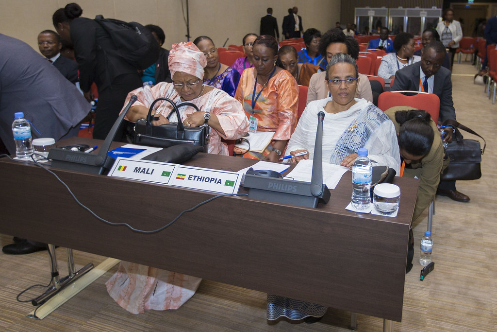 Mali Ethiopia First Ladies