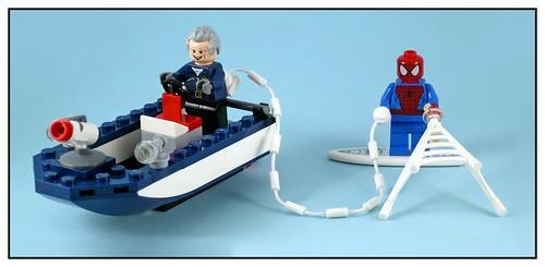 LEGO Marvel Super Heroes 76059 Spider-Man Doc Ock's Tentacle Trap 22