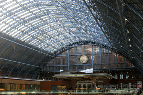 Thought of Train of Thought by Ron Arad, St Pancras Station
