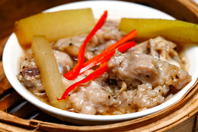Steamed Pork Ribs with Chaoye Melon