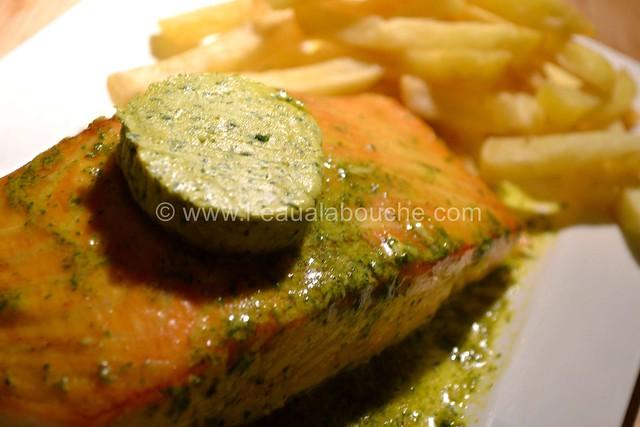 Saumon à la Plancha Beurre Epicé & à la Ciboulette © Ana Luthi 0005