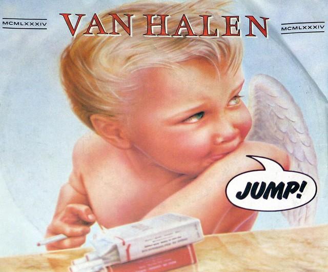 """Van Halen - Jump 7"""" Single"""