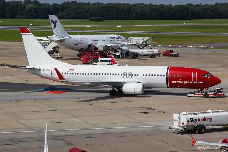 Norwegian - B738 - EI-FJN (1)
