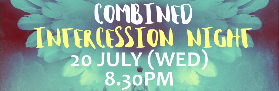 combined intercession night web