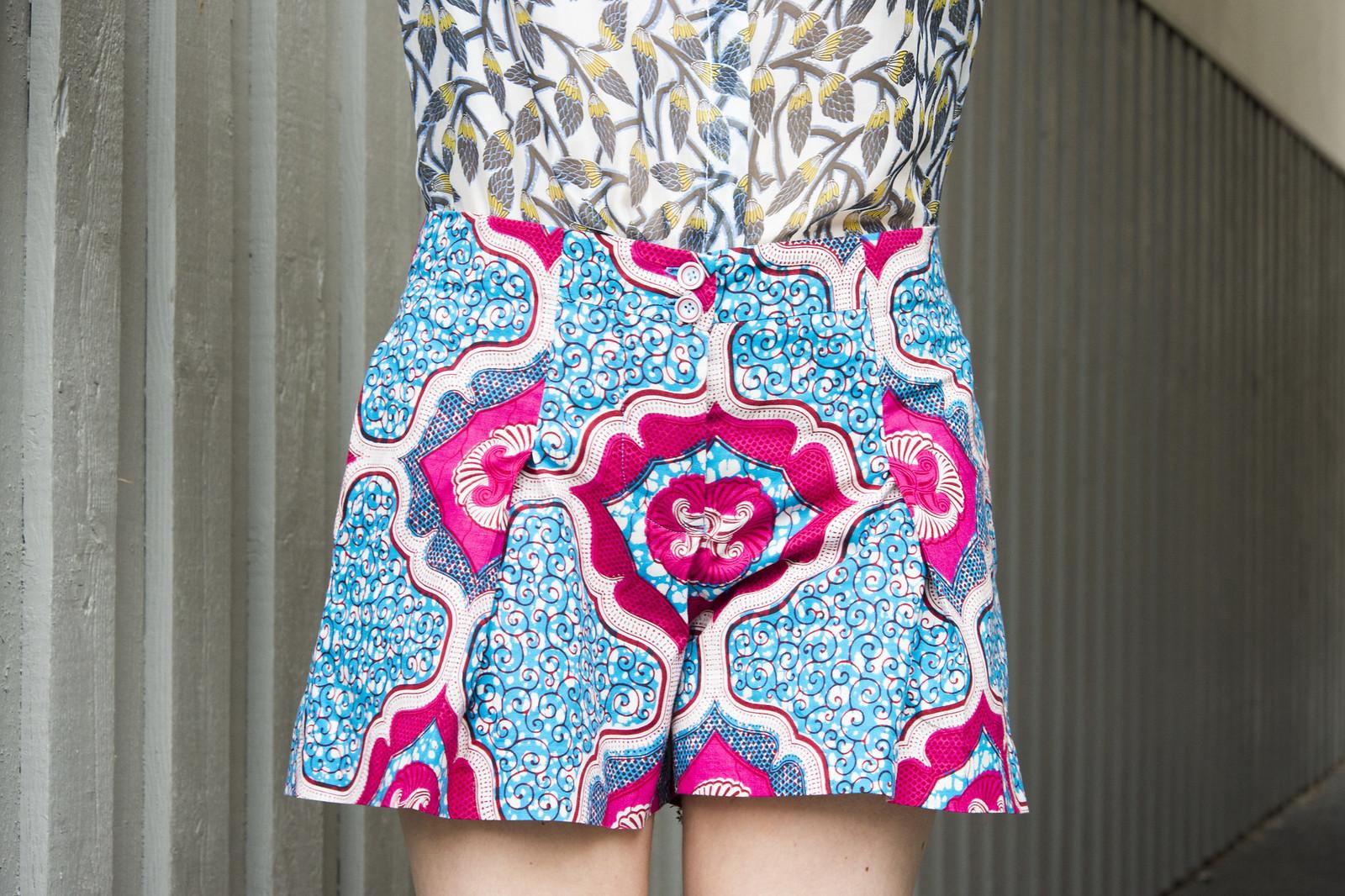 Burdastyle swing shorts