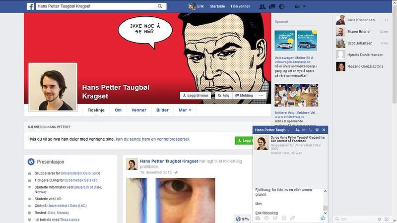 mer fra facebook harald hårfagres gate