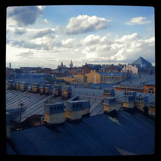 Roofs of St.Petersburg, for #365days project, 222/365.