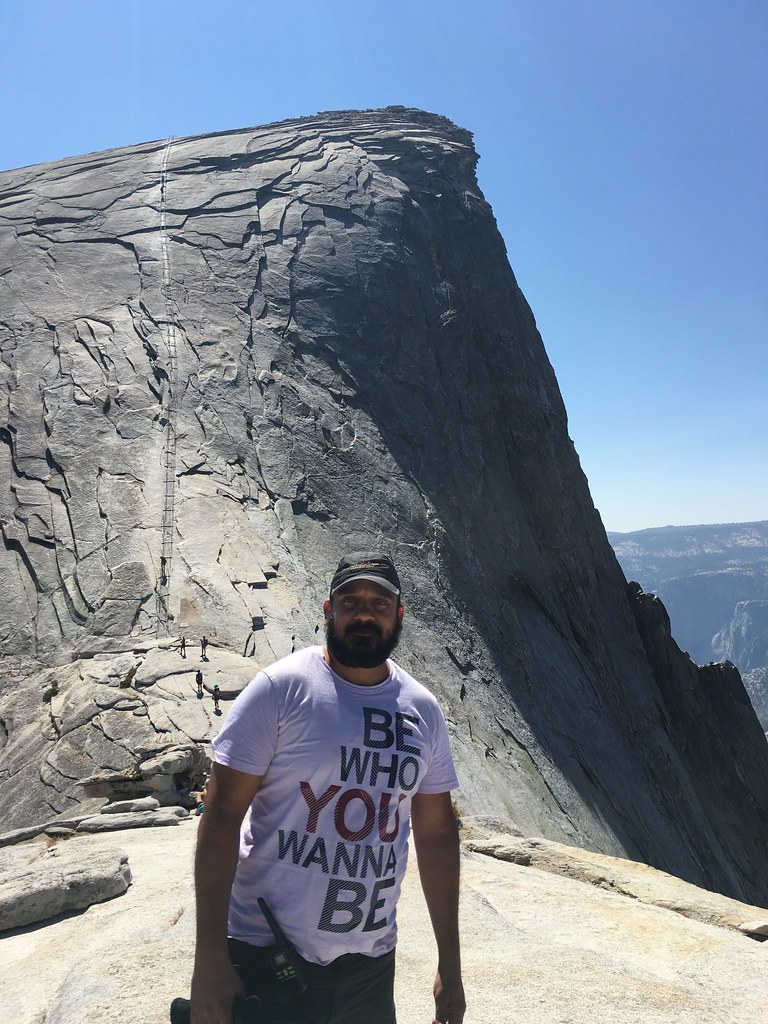 cables on half-dome