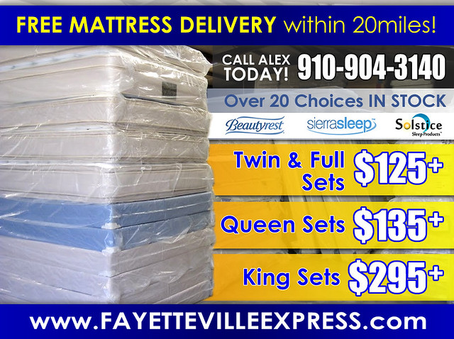 Free Mattress Delivery AD (FX2)
