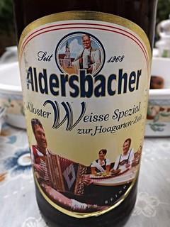 Aldersbacher, Kloster Weisse Spezial zur Hoagarten-Zeit, Germany