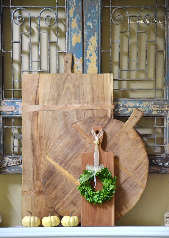 Mantel - Breadboards - Housepitality Designs