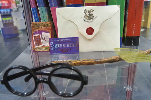 Harry Potter display