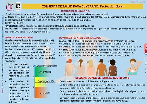 Consejos de Salud de Verano: Protección Solar Diapositiva1