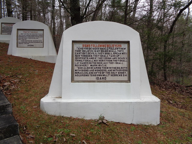 Fields of the Wood Bible Park, Murphy NC