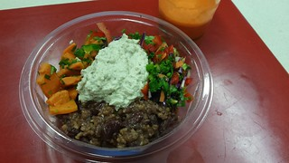 Baba Salad from Charlie's Raw Squeeze