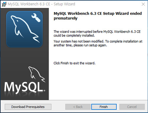 MySQL Workbench Download Prerequisites