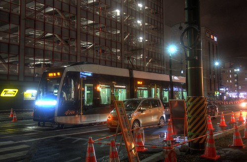 Tramcars at Sapporo on JUL 19, 2016 (8)