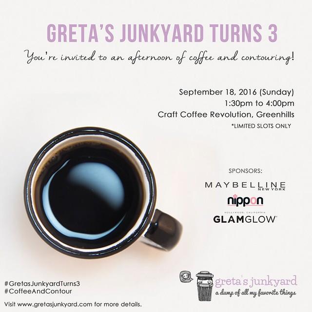 greta's junkyard third anniversary