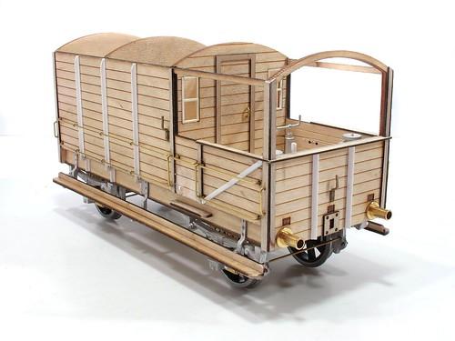 Gauge One Wagon under construction
