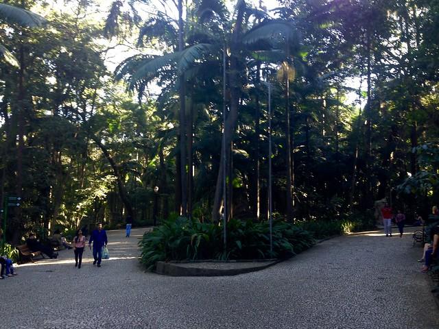 A nice little garden off Avenida Paulista
